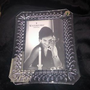 Waterford Lismore pattern 5 x 7 picture frame